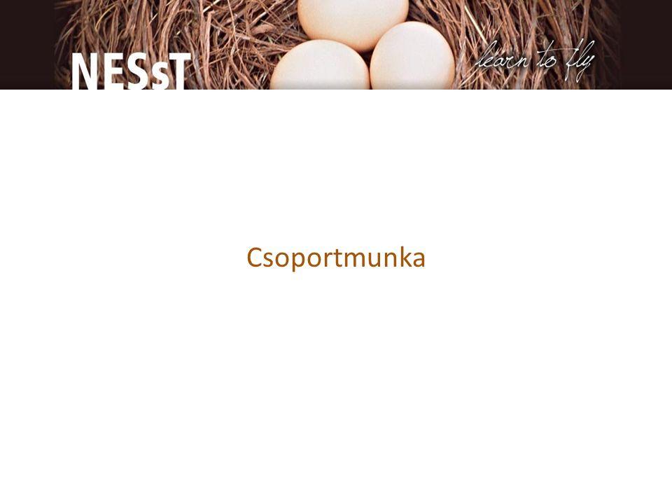 Csoportmunka