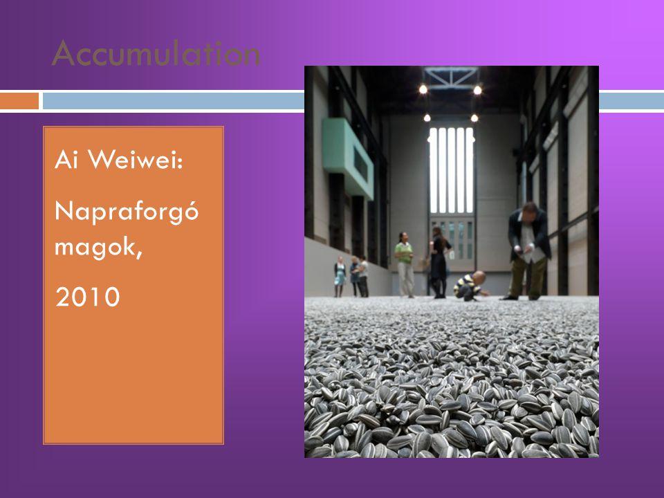 Accumulation Ai Weiwei: Napraforgó magok, 2010