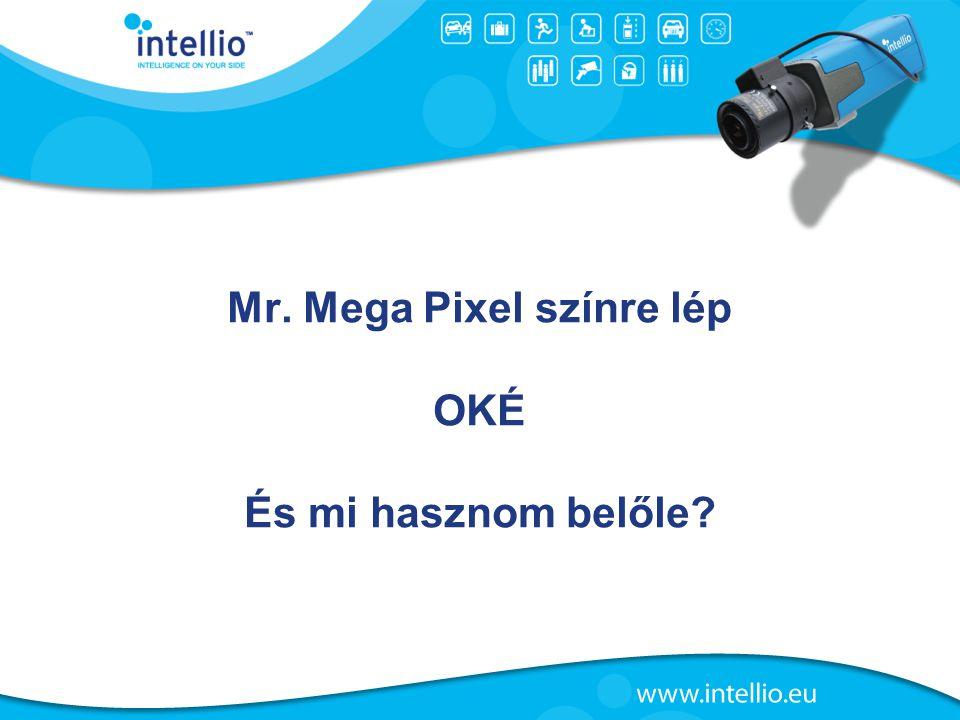 Mr. Mega Pixel színre lép OKÉ És mi hasznom belőle?