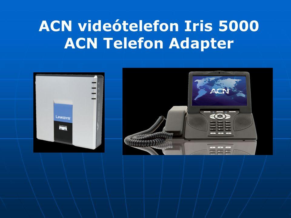 ACN videótelefon Iris 5000 ACN Telefon Adapter