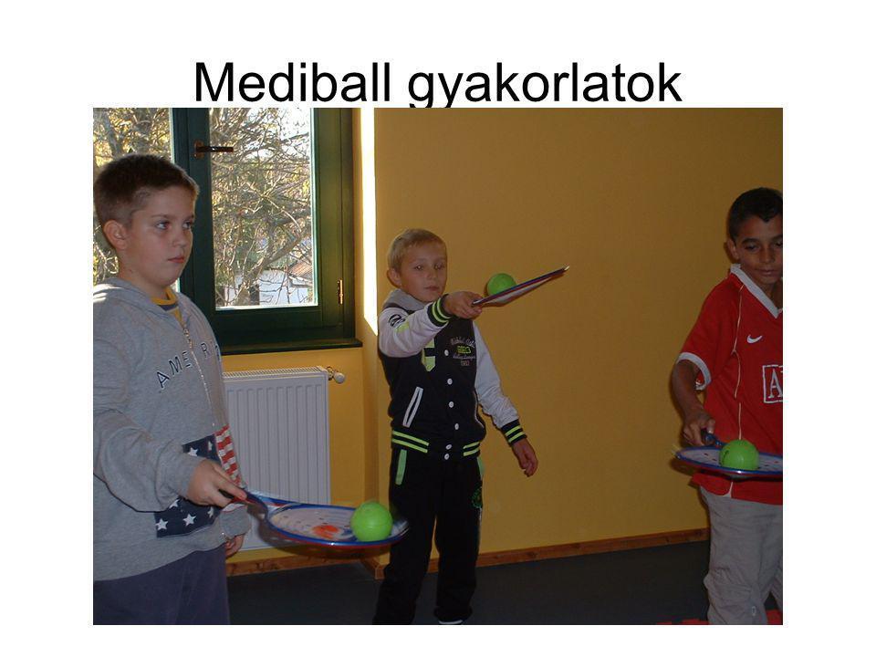 Mediball gyakorlatok