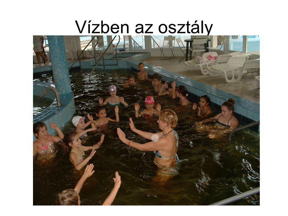 Vízben az osztály