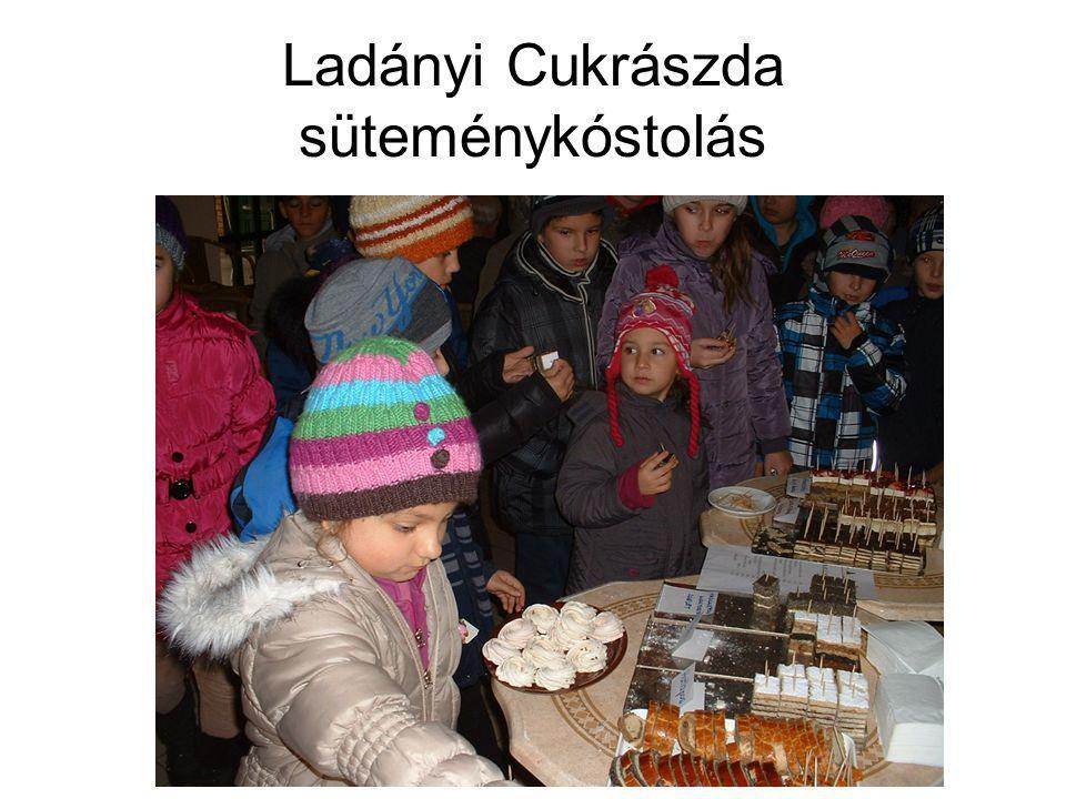 Ladányi Cukrászda süteménykóstolás