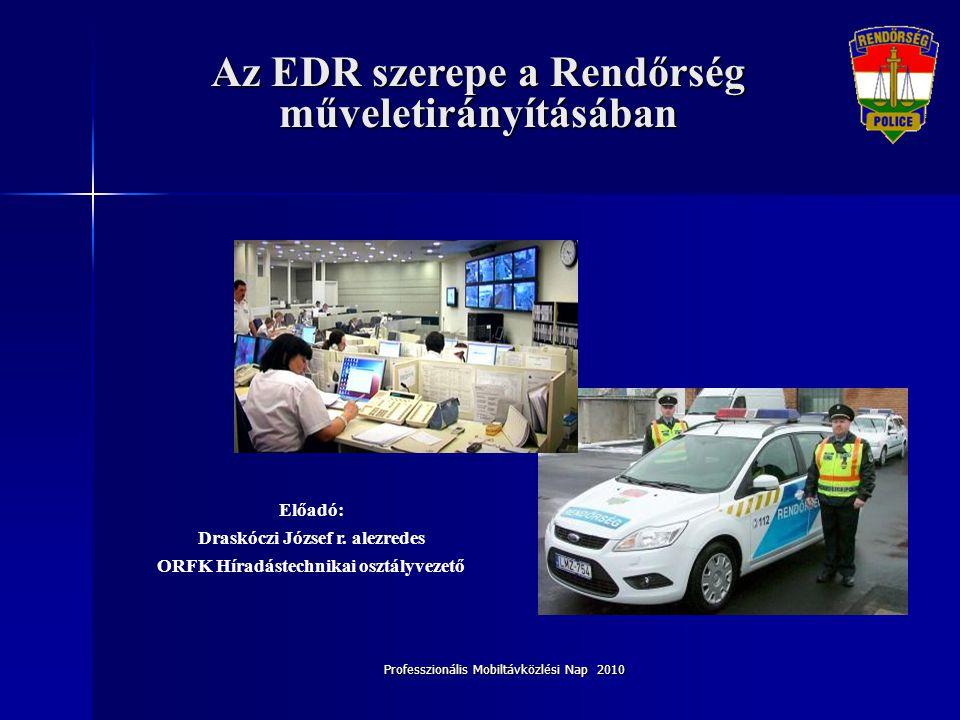 Professzionális Mobiltávközlési Nap 2010 Helyzetértékelés • 2009.