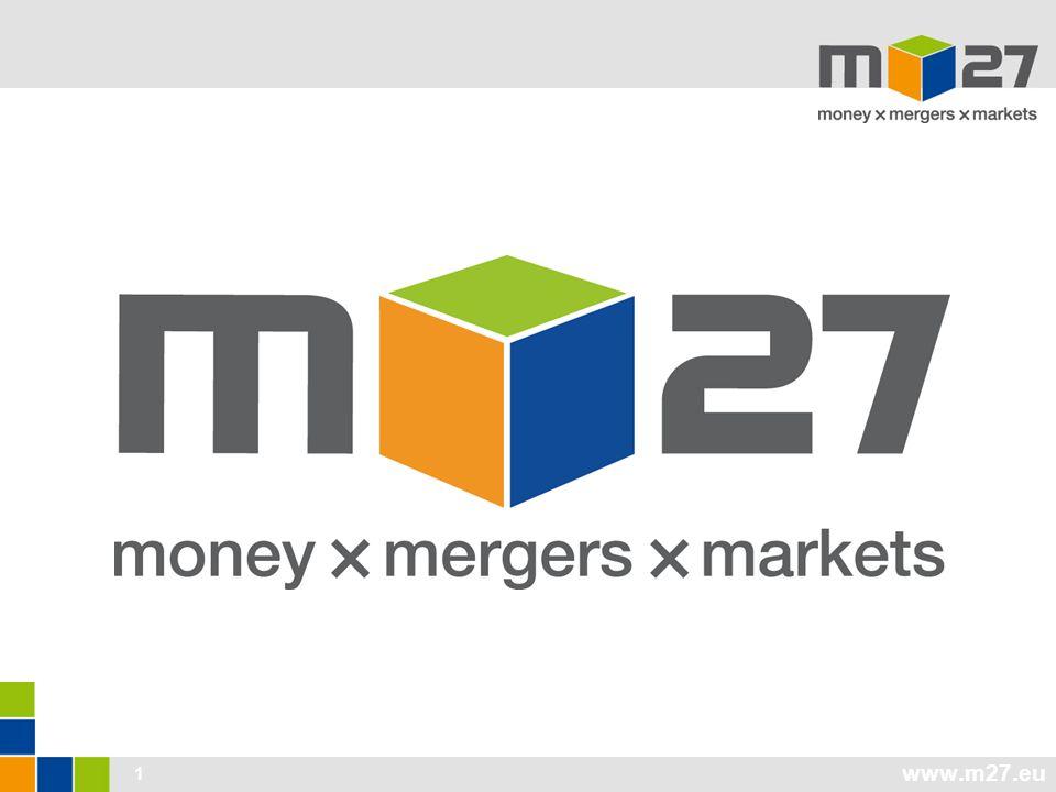 www.m27.eu 12 'money x mergers' Vállalat és projektfinanszírozás Vissza nem térítendő támogatások, támogatott és banki hitelek, garanciák, egyéb termékek/konstrukciók; kockázati, magán tőke; mezzanine források Miből.