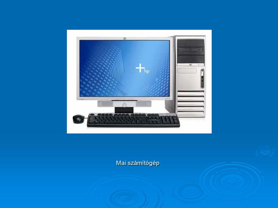 Mai számítógép
