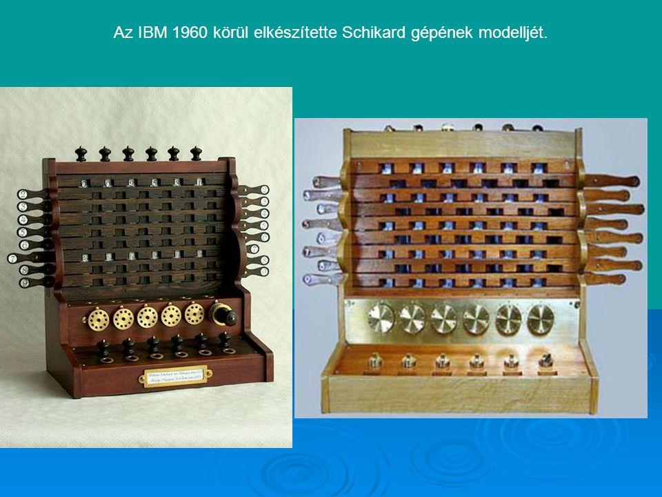 Blaise Pascal (1623-1662) 1642-ben egy mechanikus összeadó gépet szerkesztett, amelyben a főszerep szintén a fogaskerekeké volt, az átvitelhez azonban messze összetettebb mechanizmust használt az egyszerű fordulatszámlálós áttételnél.
