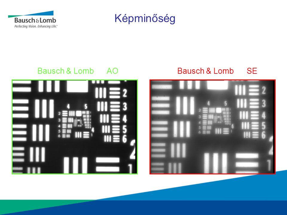 Bausch & Lomb AO Bausch & Lomb SE Képminőség
