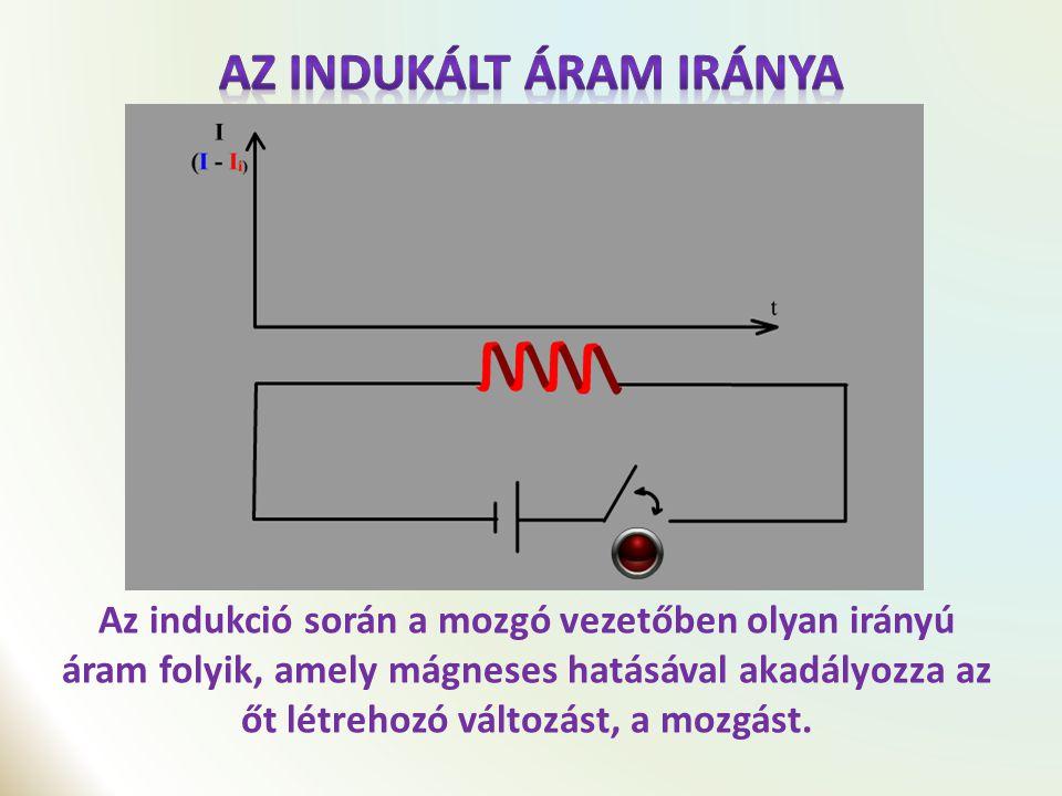 A mozgási elektromágneses indukció lehetőséget biztosít arra, hogy mechanikai energia befektetése árán elektromos energiát hozzunk létre.