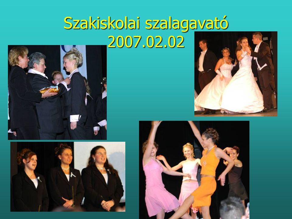 Szakiskolai szalagavató 2007.02.02