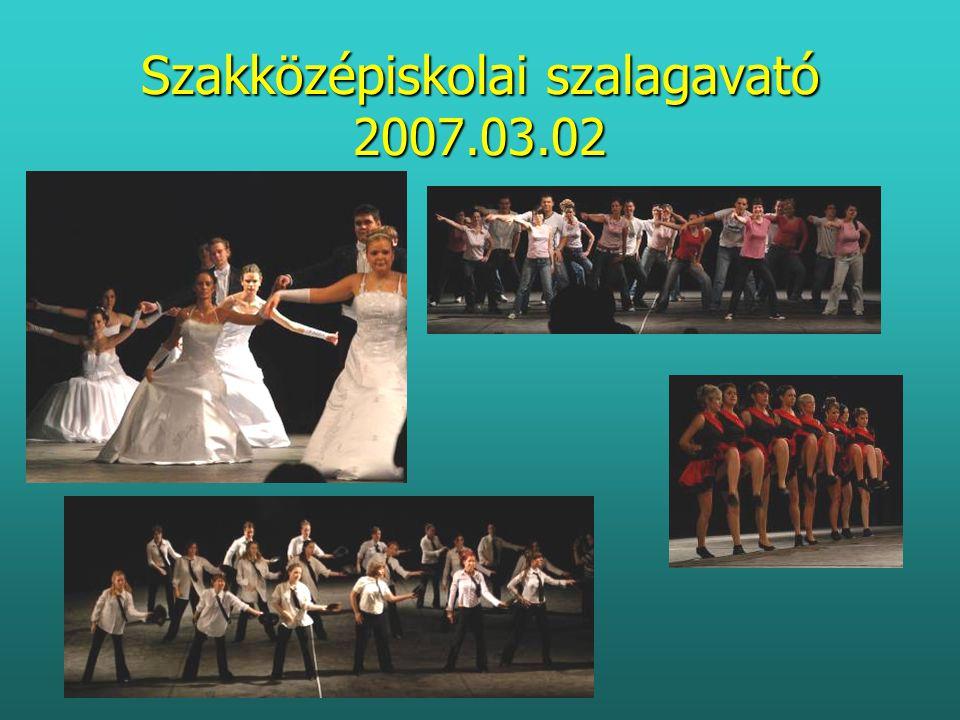 Szakközépiskolai szalagavató 2007.03.02