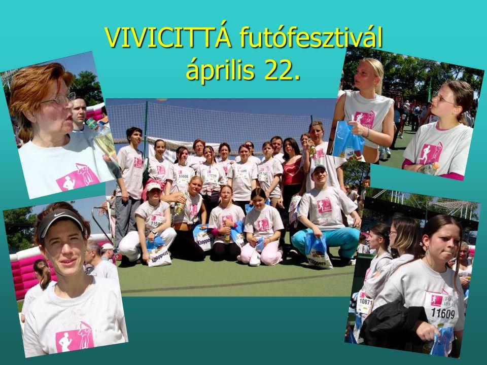 VIVICITTÁ futófesztivál április 22.