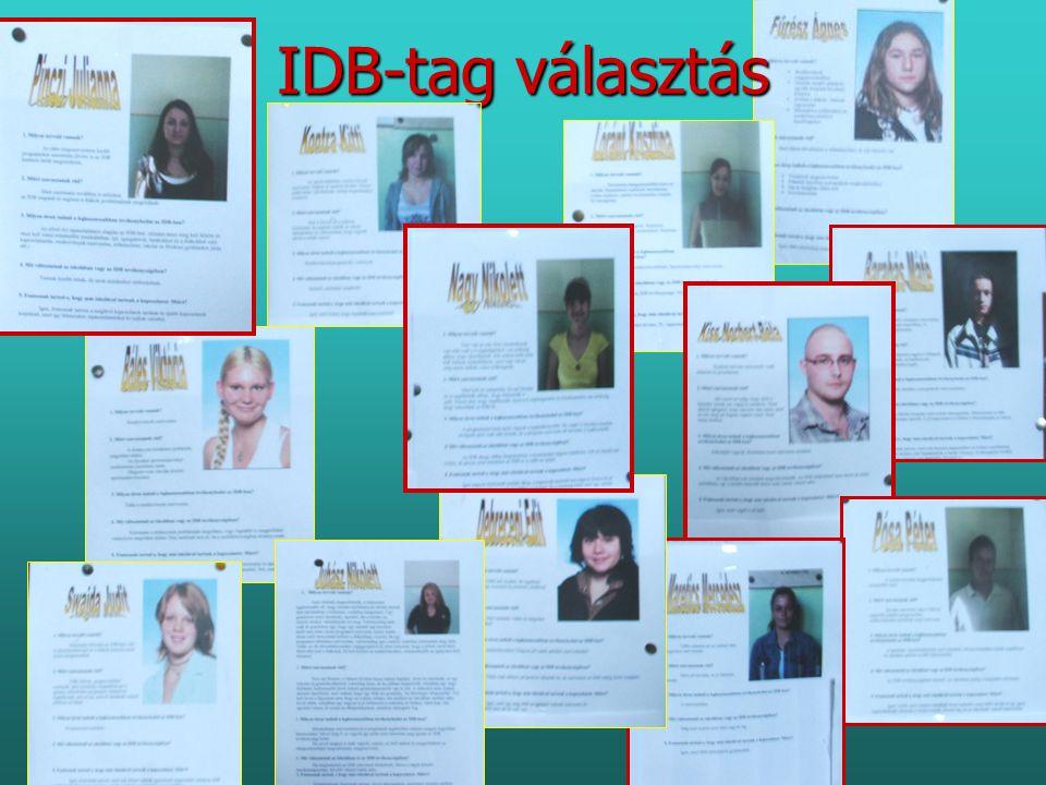 IDB-tag választás