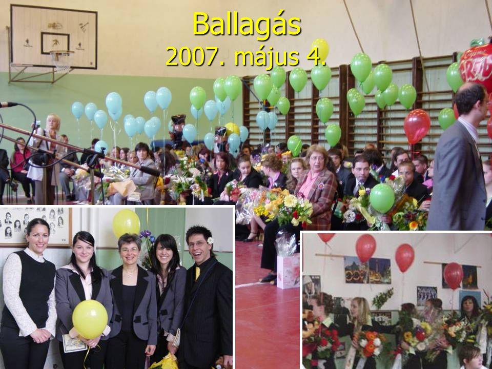 Ballagás 2007. május 4.
