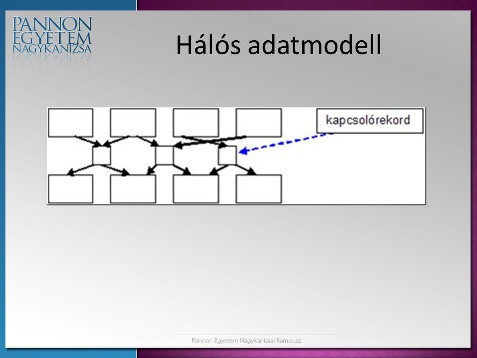 Hálós adatmodell
