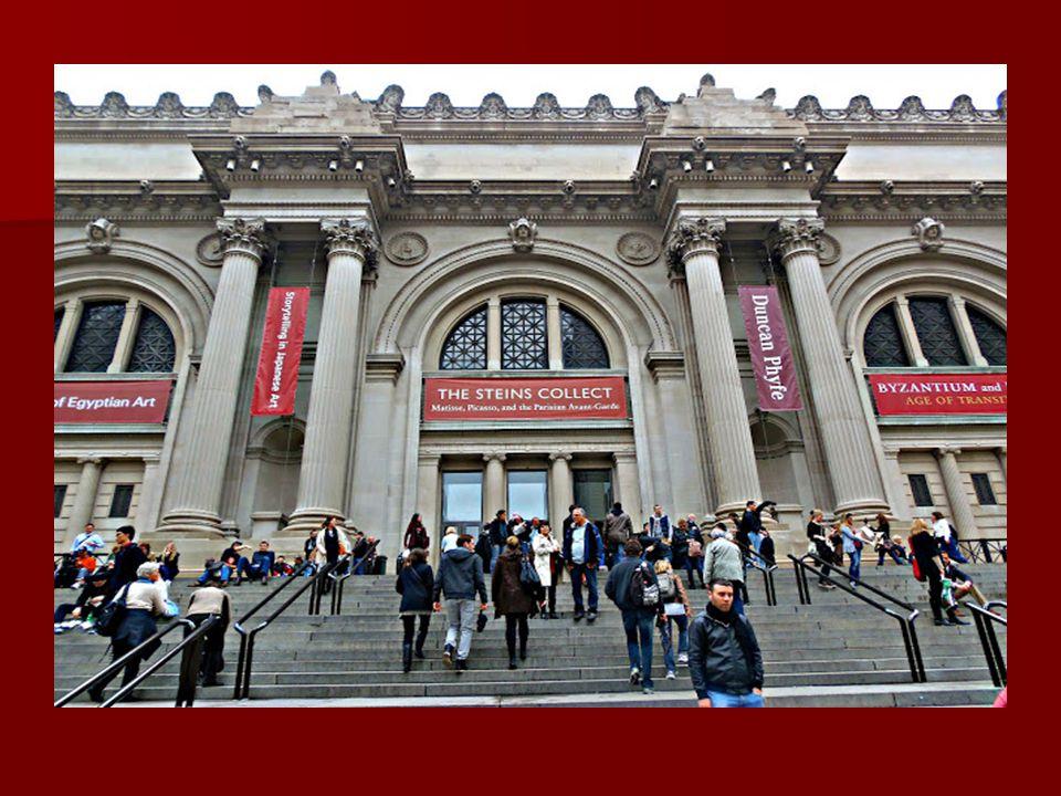 Múzeumok: Múzeumok: New Yorkban nagyon sok, mintegy ötven múzeum van, a 82. és a 105. utca közötti szakaszon található a legtöbb, ezért ezt a részt Mu