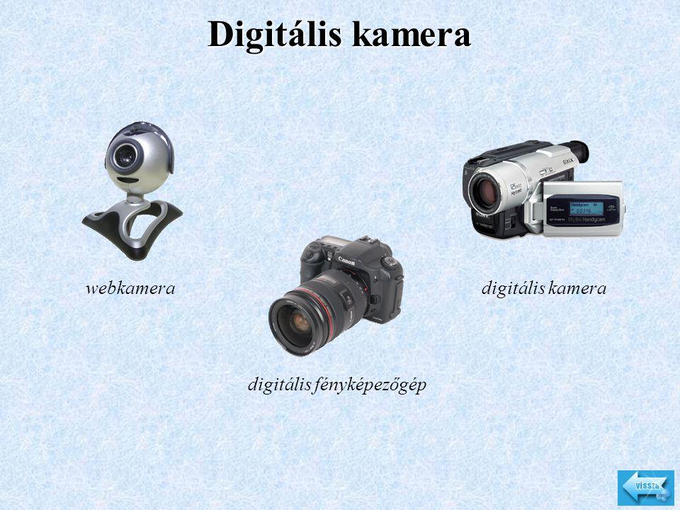 Digitális kamera webkamera digitális fényképezőgép digitális kamera
