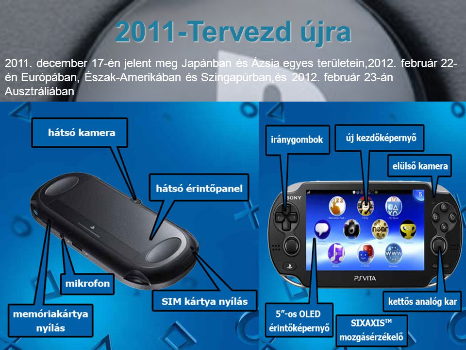 2011-Tervezd újra 2011.december 17-én jelent meg Japánban és Ázsia egyes területein,2012.