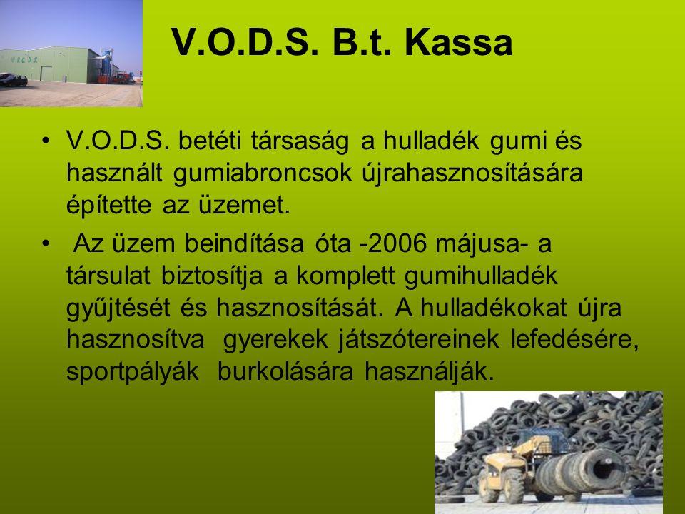 V.O.D.S. B.t. Kassa •V.O.D.S.