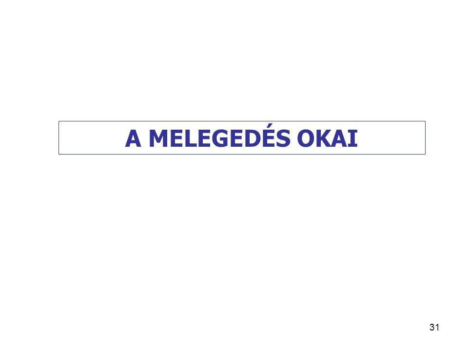 31 A MELEGEDÉS OKAI