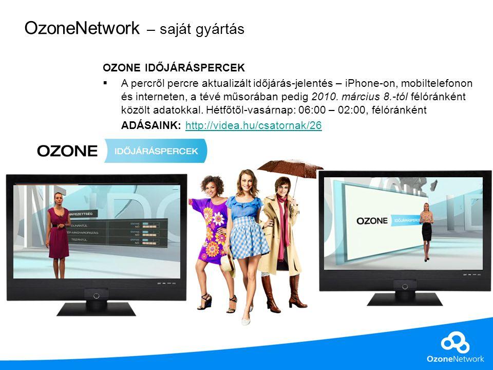 Network csatornák közönségrészesedésének (stbSHR%) változása az indulástól Forrás: MT IPTV adatok.