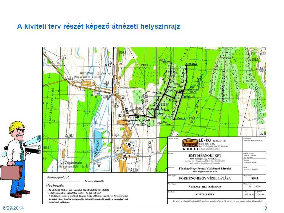 A kiviteli terv részét képező átnézeti helyszinrajz 6/29/20143