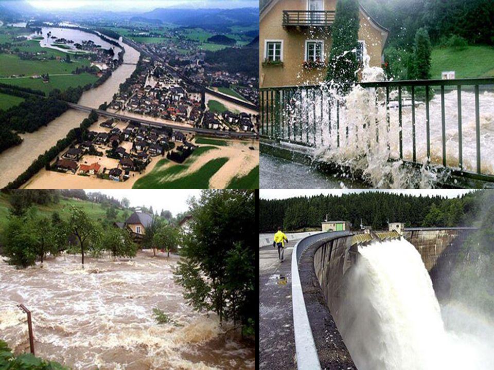 Képek az ausztriai árvizről