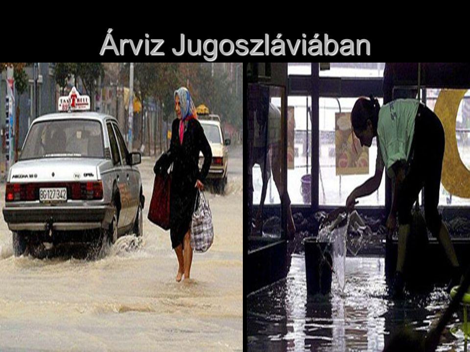 Képek a csehországi árvizről