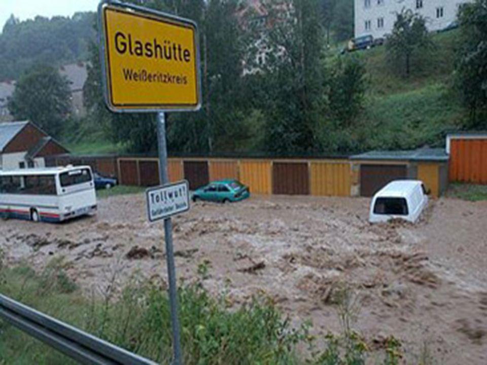Képek a németországi árvizről