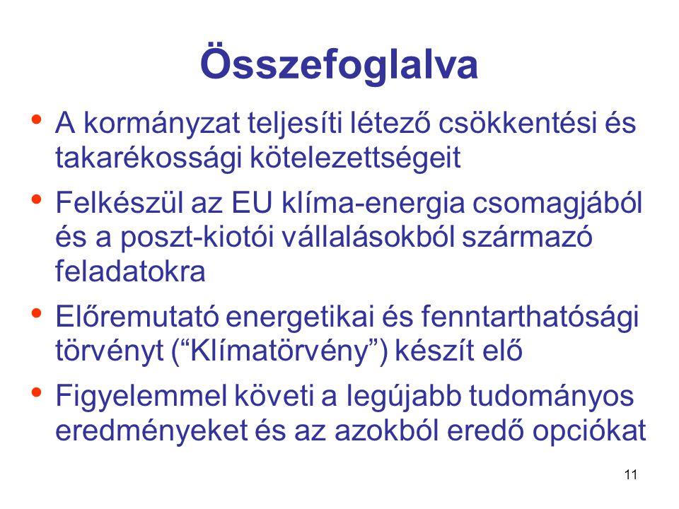 12 Köszönöm szíves figyelmüket Környezetvédelmi és Vízügyi Minisztérium 1011 Budapest, Fő utca 44-50.