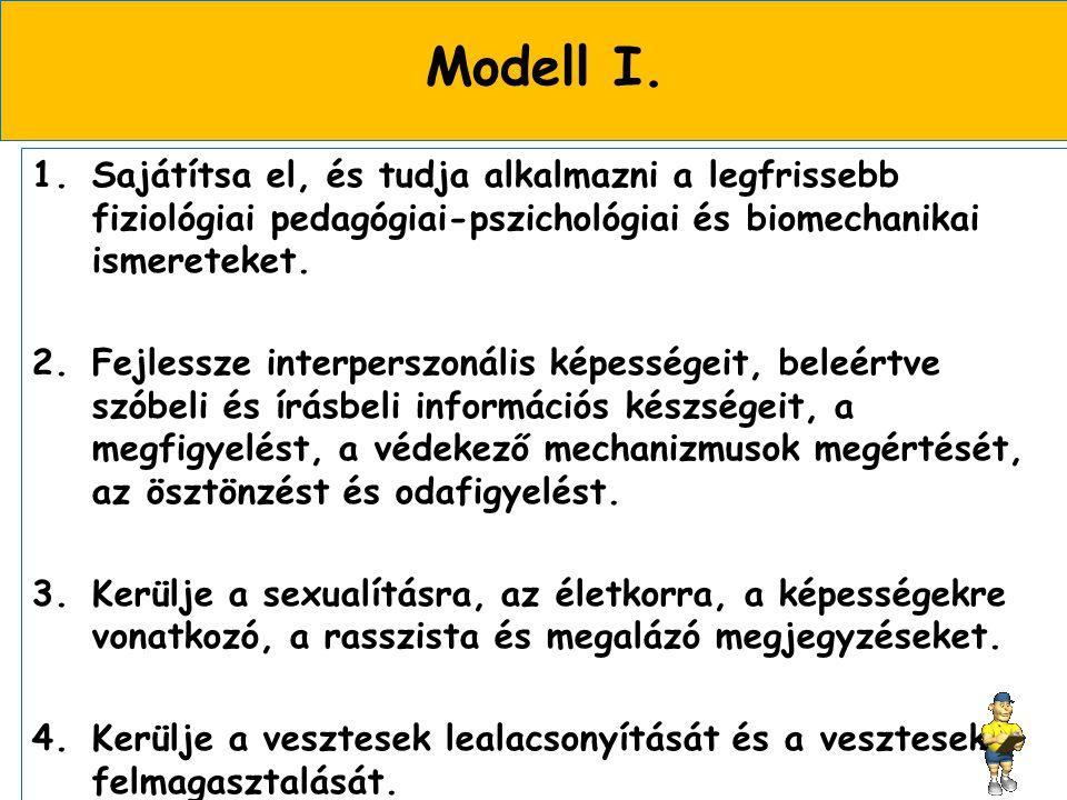 Modell I.