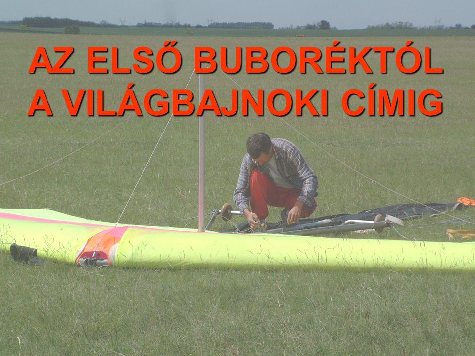 TERMIKNYALÁNKSÁGOK (Pécs, 1999) Menyhárt Éva (sárkányrepülő, meteorológus, programozó)