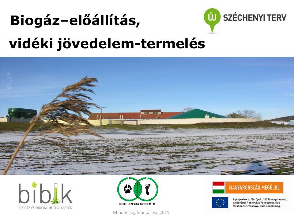 Biogáz–előállítás, vidéki jövedelem-termelés Kép!!! Minden jog fenntartva, 2011