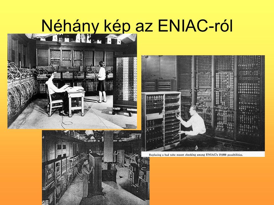 Néhány kép az ENIAC-ról