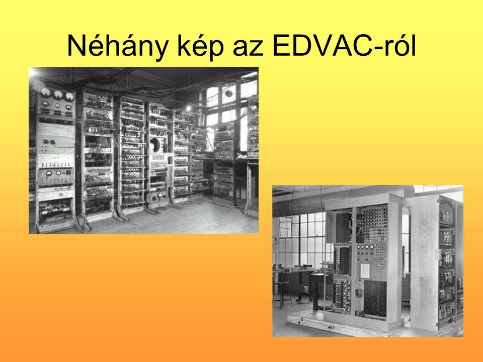 Néhány kép az EDVAC-ról