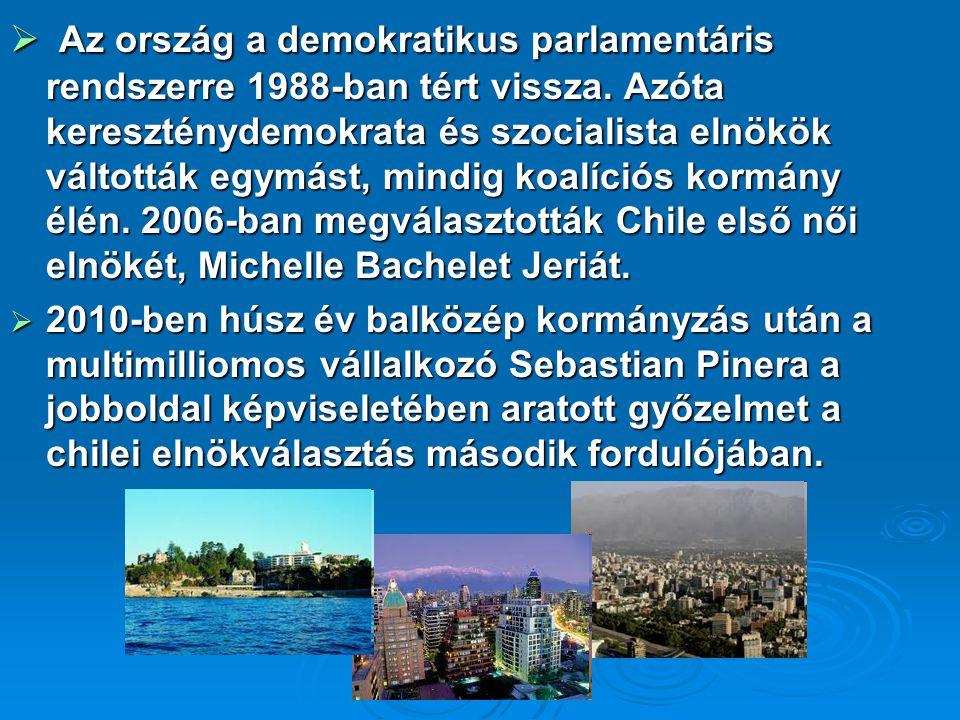  Az ország a demokratikus parlamentáris rendszerre 1988-ban tért vissza.