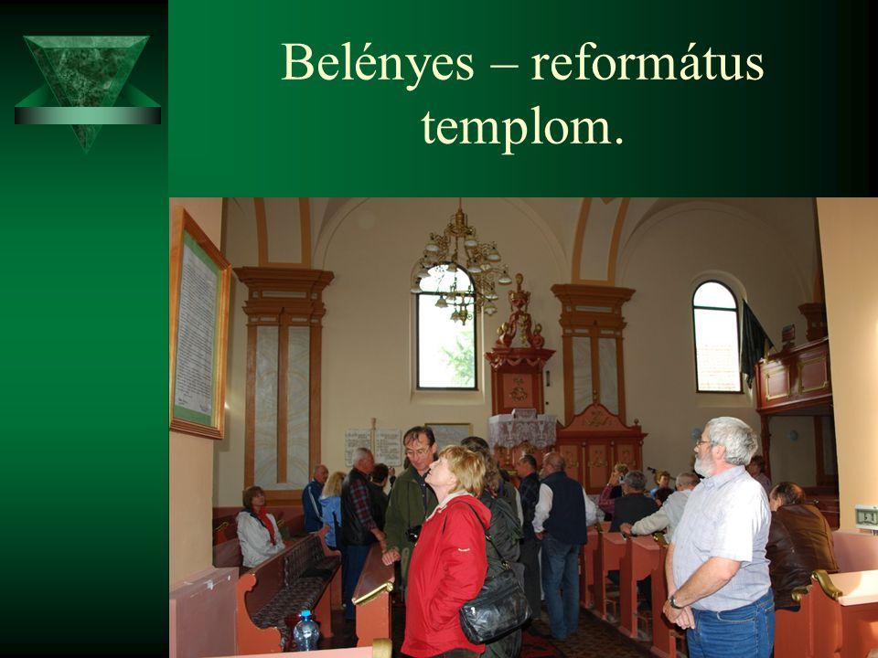 Belényes – református templom.