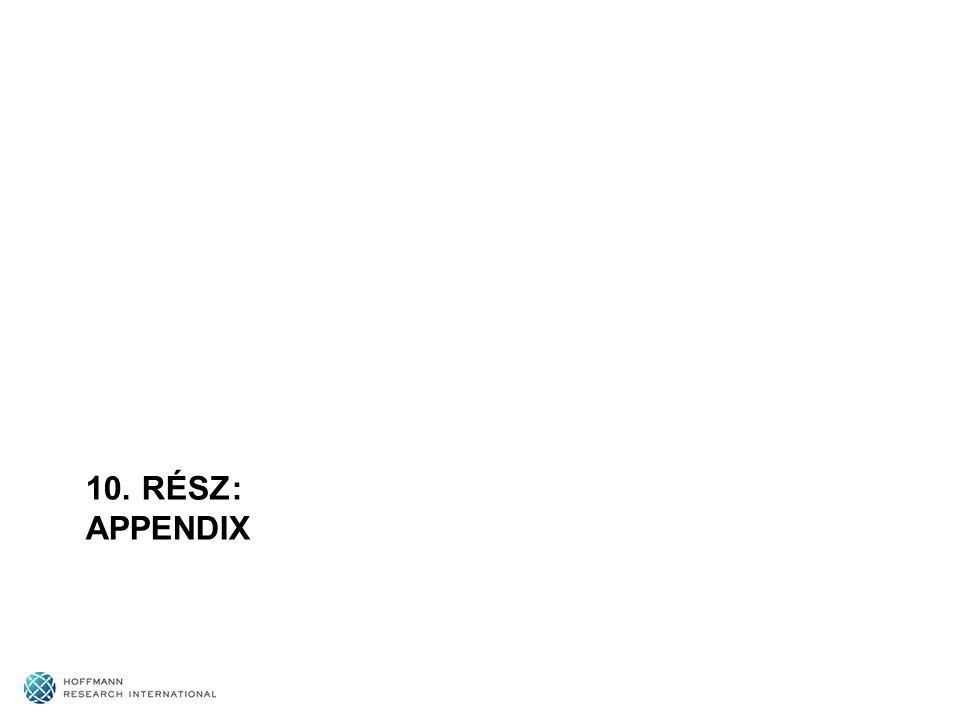 10. RÉSZ: APPENDIX