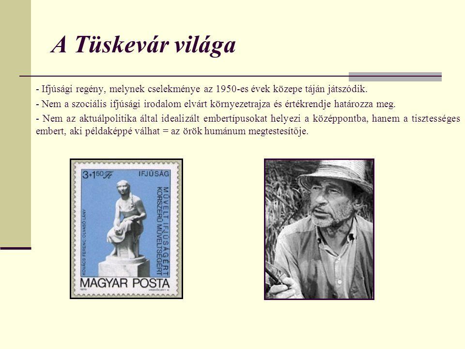 A Tüskevár világa - Ifjúsági regény, melynek cselekménye az 1950-es évek közepe táján játszódik.