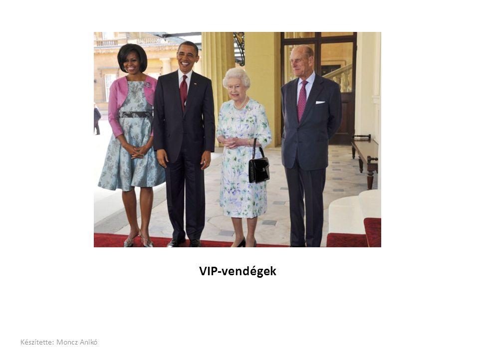 VIP-vendégek Készítette: Moncz Anikó