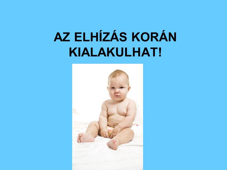 AZ ELHÍZÁS KORÁN KIALAKULHAT!