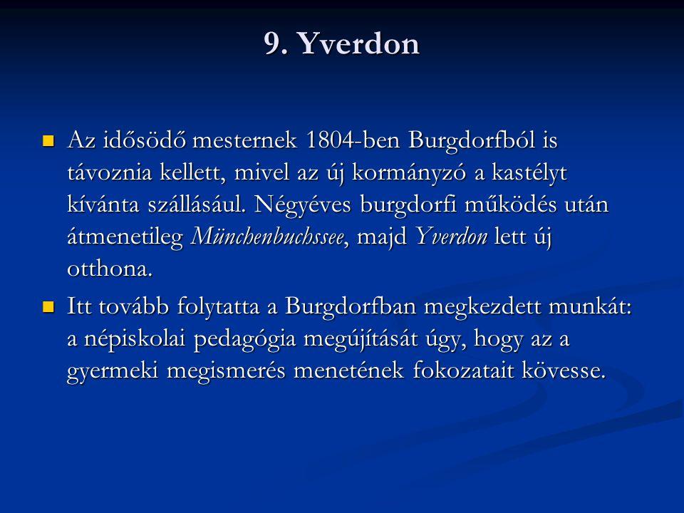 Az yverdoni vár korabeli képe