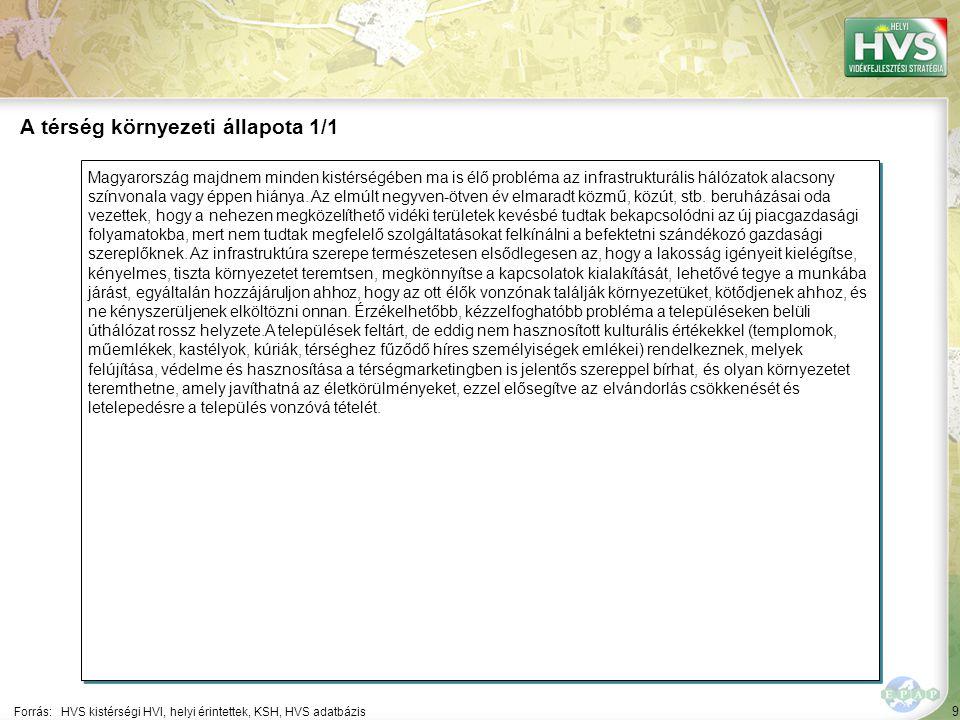 9 Magyarország majdnem minden kistérségében ma is élő probléma az infrastrukturális hálózatok alacsony színvonala vagy éppen hiánya.