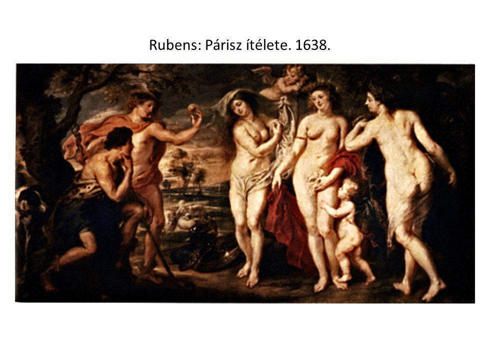 Rubens: Párisz ítélete. 1638.