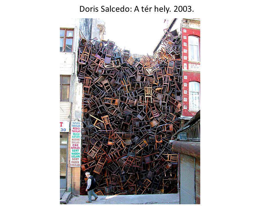 Doris Salcedo: A tér hely. 2003.