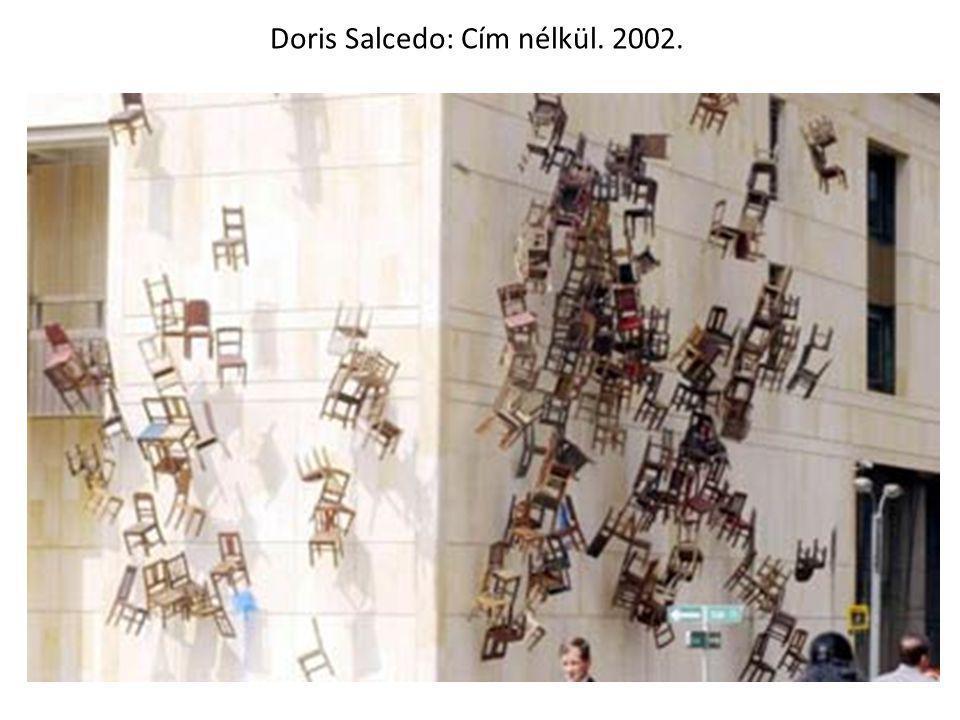 Doris Salcedo: Cím nélkül. 2002.