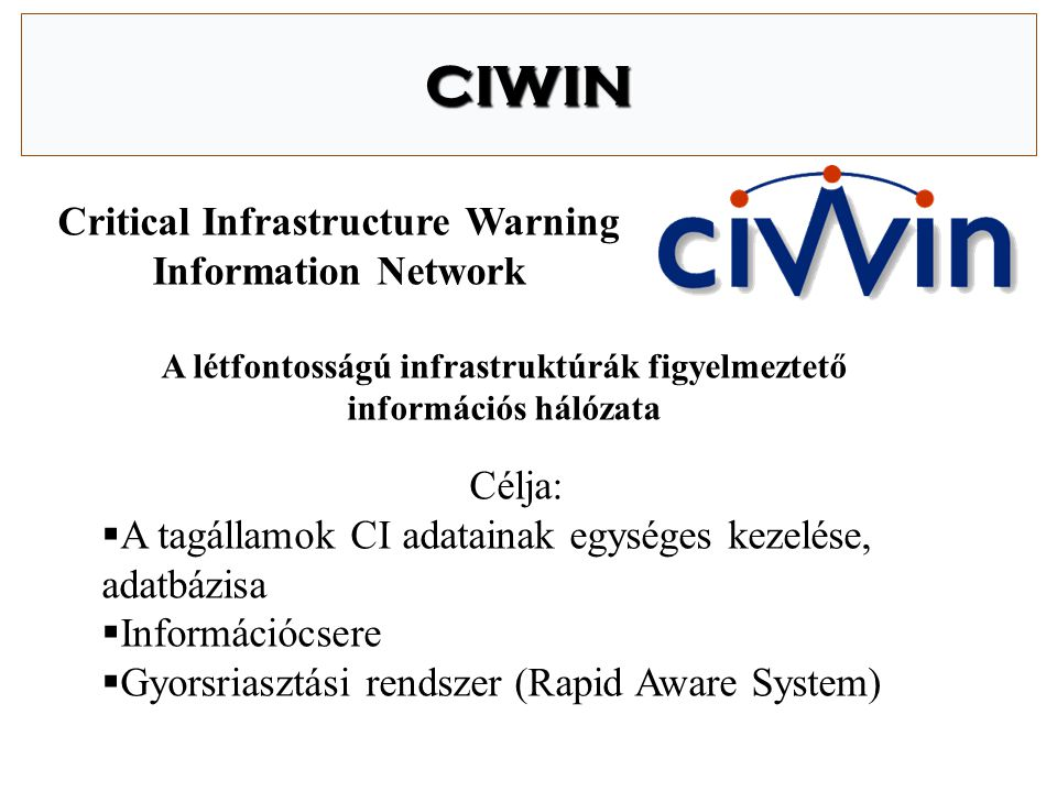 Integrált feladatrendszer Polgári Védelem T ű zvédelem Iparbiztonság