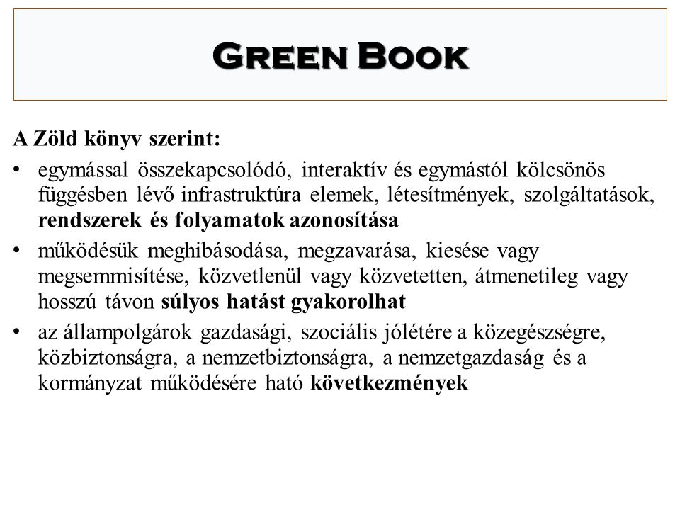 Magyar szabályozási környezet I.Törvények  2003.