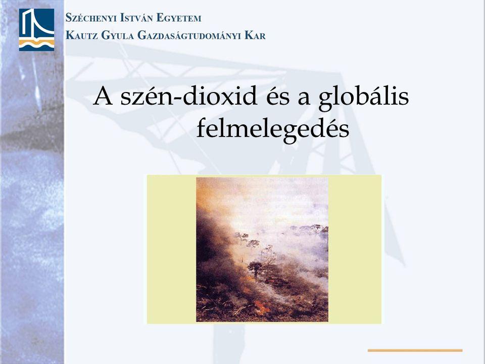 Klímaváltozás •1992-ben 360 jelentős természeti katasztrófát regisztráltak a világon, 2001-ben pedig 700-at.