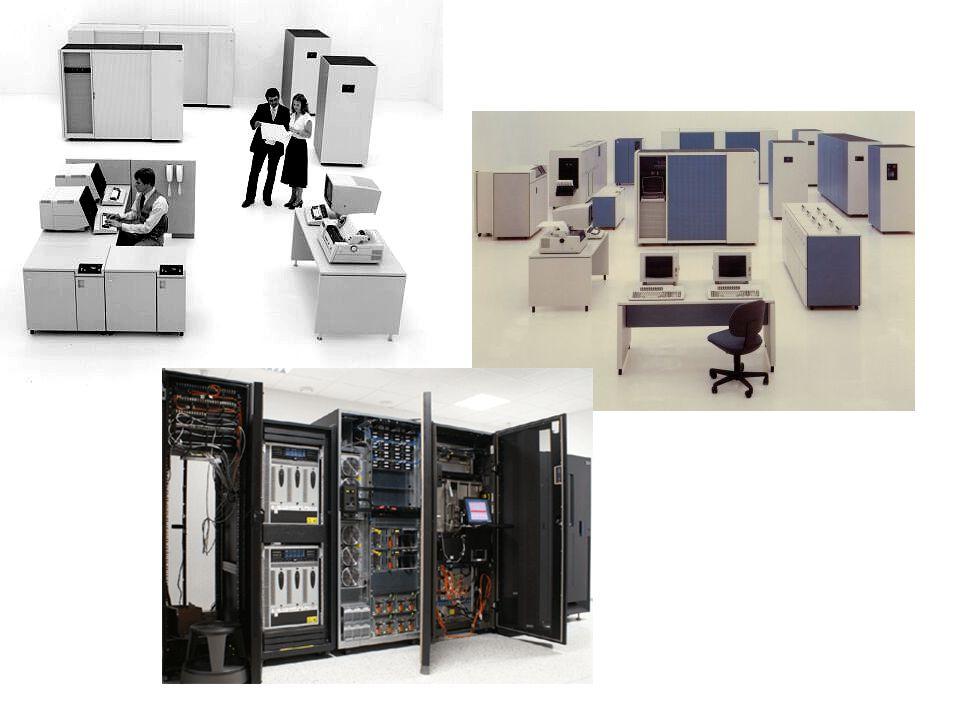 Miniszámítógép • Feladataiban és elérési módjában hasonló a mainframe számítógépekhez, teljesítménye azonban kisebb.